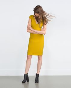 SHIFT DRESS-View all-Dresses-WOMAN | ZARA United States