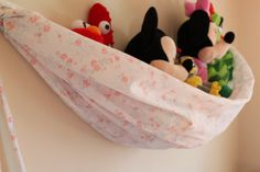 Nursey or child's room toy hammock Baby nursery Toy by BugsNTails, Stuffed Animal Net, Storage Organization, Storage Ideas, Toy Hammock, Nursery Toys, Child's Room, Homemaking, Baby Ideas, Baby Love