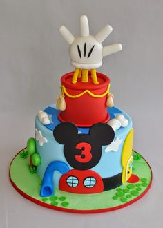 Love this for Cody's Mickey themed party!!