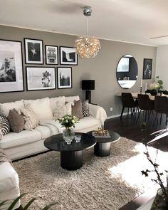 Living Room Decor Cozy, Elegant Living Room, New Living Room, Home And Living, Modern Small Living Room, Living Room Inspiration, House Rooms, Apartment Living, Living Room Designs