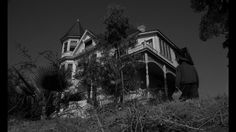 That creepy house in Spider Baby Spider Baby, Lon Chaney Jr, Creepy Houses, Creative Outlet, Jpg, Abandoned Places, Horror, Cabin, House Styles