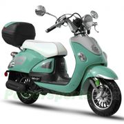 "$1229.95    BMS Legend 150cc Moped Scooter with 10"" Wheels, Rear Trunk! Made by ZNEN, High Quality!"