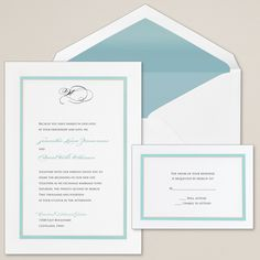 Colorful Chic Wedding Invitation | #exclusivelyweddings