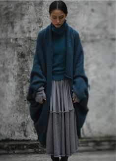 #oversized #knit    (via 例外 (EXCEPTION de MIXMIND) - 伊莲的日志 - 网易博客)