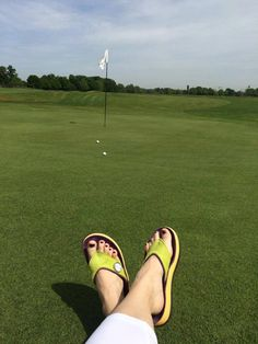 Is there a green pony or is it a G-FLOP? Fanbase at GC Renneshof Just #Golf and #Golffashion