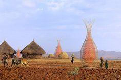 Arquitetura Sustentavel: Criação Fantástica Que Gera 100 Litros De Água Por...