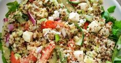 Brenda → Healthy and Fit ←: Quinoa Salade Rens Kroes