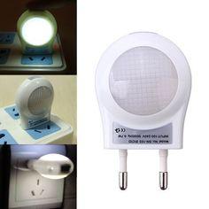 LED Lighting Sensor Light Energy Saving Night Lamp EU Plug 220V #SavingHomeEnergy