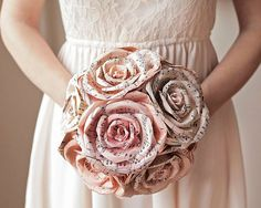 how to make a paper bouquet - Google Search