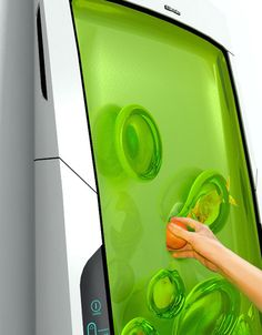 Futuristic Fridge Coats & Cools Food in Nanorobotic Bio-Gel