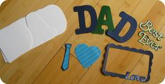 PaperCuts: Father's Day Giveway: DIY Dad Word Book