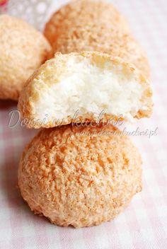 Kokosanki | Domi w kuchni Coconut meringue cookies