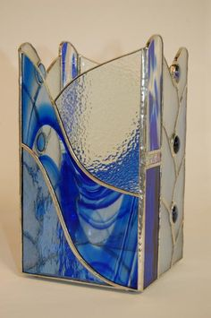 Jacquie King. 'Water Movement' candle box with mirror base