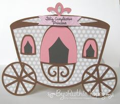 My hobby = SVGattic, bridal shower collection.  Perfect princess carriage!