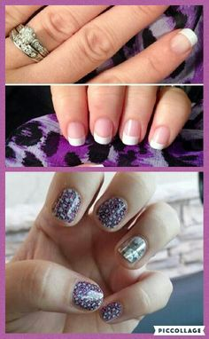 From classic pink and white tips to the wild side with salamander, we seriously have something to fit everyone's personality!