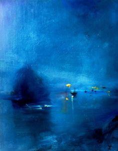 Harbor in Blue: Zachary Johnson