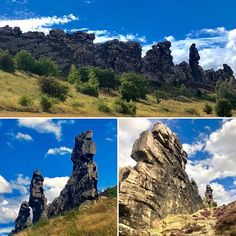 Mal wieder in den #harz zur #teufelsmauer Mount Rushmore, Mountains, Nature, Travel, Resin, Naturaleza, Viajes, Destinations, Traveling