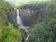 Canion e cachoeira em Prudentópolis Paraná