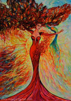 THE TREE OF LIFE / LEBENSBAUM - RED BEAUTY