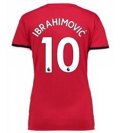 Manchester United Zlatan Ibrahimovic 10 Hemmatröja Dam 17-18 Kortärmad Neymar, Messi, Manchester United, Ronaldo, Real Madrid, The Unit, Football, Disney, Sports