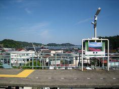 気仙沼線歌津駅  2010年6月