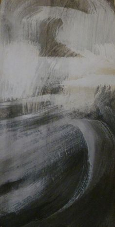 'Vent by French artist Marion Le Pennec Mixed media, 22 x 43 cm. via les funambules Contemporary Art Artists, 50 Shades Of Grey, Sculpture, French Artists, Gravure, Abstract Landscape, Im Not Perfect, Waves, Mixed Media