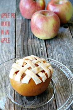 Skinny Apple Pie - Love with recipe