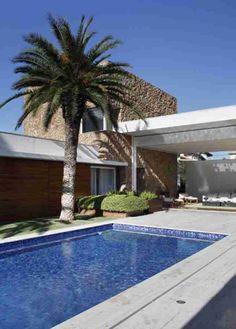 Residência Melville / Alessandra Pires e Carla Barranco #Piscina #Pool #Exterior
