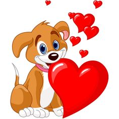 Valentine Cute Dog Cartoon Animal Images Are On A Transparent Background Smiley Emoji, Dog Emoji, Funny Emoji Faces, Funny Emoticons, Smileys, Love Smiley, Emoji Love, Love You Gif, Cute Love Gif