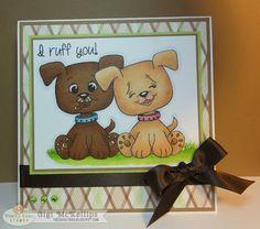 Gigi McKellips :: I Ruff You!! - Peachy Keen Stamps
