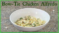 Bow Tie Chicken Alfredo - Pioneer Woman Recipe!