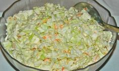 KFC Coleslaw is a five minute side dish you'll enjoy all summer long with your favorite chicken and more! KFC Coleslaw is one of my most personal childhood food memories. Vegetarian Recipes, Cooking Recipes, Low Carb Recipes, Kfc Coleslaw, Coleslaw Recipes, A Food, Food And Drink, Cabbage Salad Recipes, Salad Ingredients