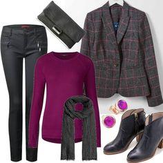 Brigitte Tweed Blazer Grey Damen Boden. Size Grau für Damen zum Nachshoppen  auf Stylaholic 041248a243