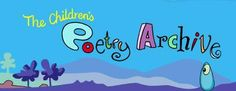 The Children's Poetry Archive Teaching Poetry, Writing Poetry, Interactive Websites, Interactive Art, Teacher Tools, Teacher Resources, Poetry Sites, Types Of Poems, Classroom Crafts
