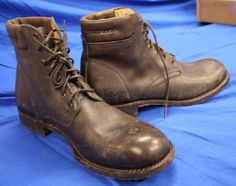 SALE 33% OFF !NEW WTAGS ! MEN'S FRYE FULTON DISTRESSED LEATHER BOOTS SZ 13D $328 #Frye #AnkleBoots