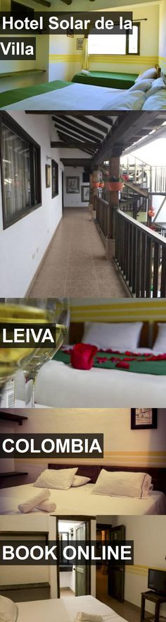 Hotel Solar de la Villa in Leiva, Colombia. For more information, photos, reviews and best prices please follow the link. #Colombia #Leiva #travel #vacation #hotel