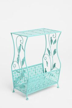 Perfect addition for holding my good tunes justtt bought it! Flourish Storage Side Table  #UrbanOutfitters #recordplayer