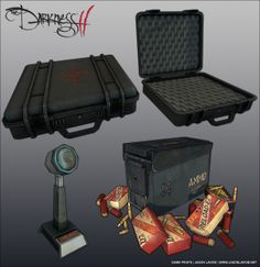 The Darkness 2 – Props (videogame-art, 2014)
