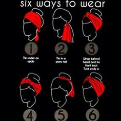 to Create a Hairstyle with a Bandana Six easy ways to wear a scarf, including some simple rockabilly hair styles.Six easy ways to wear a scarf, including some simple rockabilly hair styles. Ways To Wear A Scarf, How To Wear Scarves, Wearing Scarves, Curly Hair Styles, Natural Hair Styles, Pin Up Hair, Rockabilly Fashion, Rockabilly Hairstyle, Rockabilly Ideas