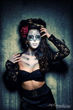 Maquillage pour Halloween... #TheBeautyHours