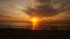 Sunset at dreamland, bali