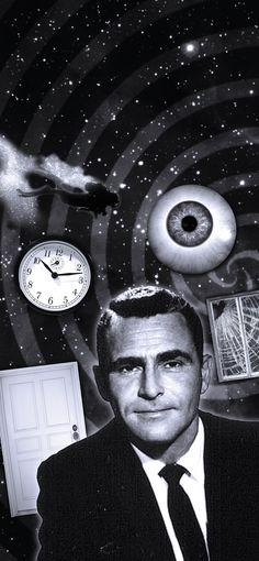 Rod Serling, the man known for tv, but truly a man of the written word.