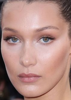 Close-up of Bella Hadid at the 2016 Cannes premiere of 'Cafe Society'.