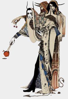 "41 Strangeさんのツイート: ""Artwork by Japanese illustrator Akiya Kageichi… "" Arte Dark Souls, Motif Art Deco, Character Design Inspiration, Aesthetic Art, Dark Art, Japanese Art, Art Inspo, Ikon, Fashion Art"