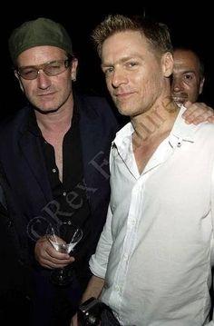 Bono and Bryan Adams