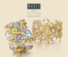 NANIS Italian fine jewellery. Exclusively available in the UK & Ireland from Leoro Showroom, www.leoro.co.uk