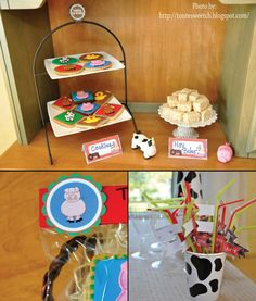 Barn farm birthday party package DIY Down on by smrpartydesigns, $10.00