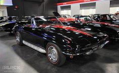 Rick Hendrick's 1967 Convertible Corvette. Leaving my wedding in this car. A girl can dream, right?