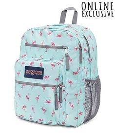 The Big Student backpack is perfect for middle school to high school students. Cute Backpacks For School, Backpacks For Sale, Cool Backpacks, Rolling Backpack, Men's Backpack, Jansport Backpack, Mochila Jansport, Bags For Teens, School Bags For Girls