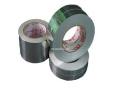 48 mm x 20 mtrs - Aluminium foil tape 30micron thickness; Adhesive coated Tape; Make : Sun brand tapes; Best Quality for Price Tape in India; Pack of 10 Rolls.Individuals can access us @ www.steelsparrow.com